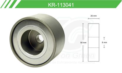 Imagen de Poleas de Accesorios y Distribución KR-113041
