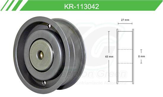 Imagen de Poleas de Accesorios y Distribución KR-113042
