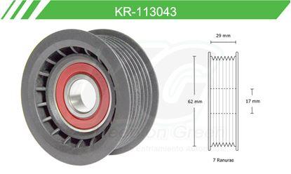Imagen de Poleas de Accesorios y Distribución KR-113043