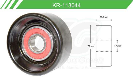 Imagen de Poleas de Accesorios y Distribución KR-113044