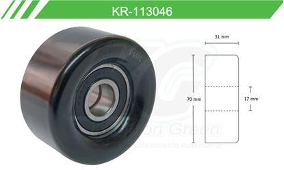 Imagen de Poleas de Accesorios y Distribución KR-113046