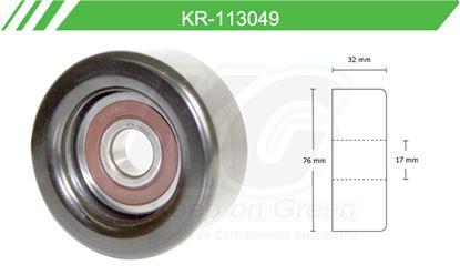 Imagen de Poleas de Accesorios y Distribución KR-113049