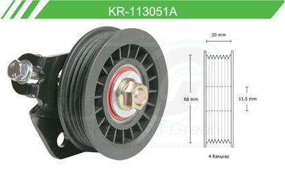 Imagen de Poleas de Accesorios y Distribución KR-113051A