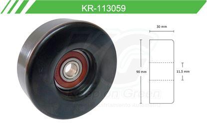 Imagen de Poleas de Accesorios y Distribución KR-113059