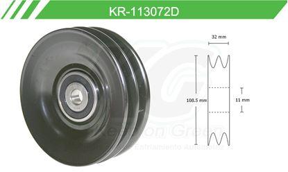Imagen de Poleas de Accesorios y Distribución KR-113072D
