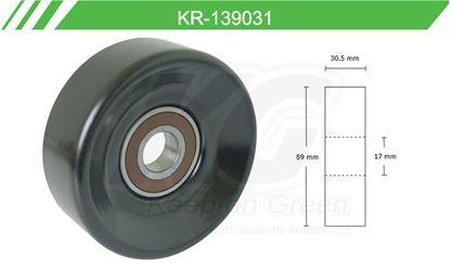 Imagen de Poleas de Accesorios y Distribución KR-139031