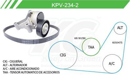 Imagen de Kit de Accesorios con Banda Poly-V KPV-234-2