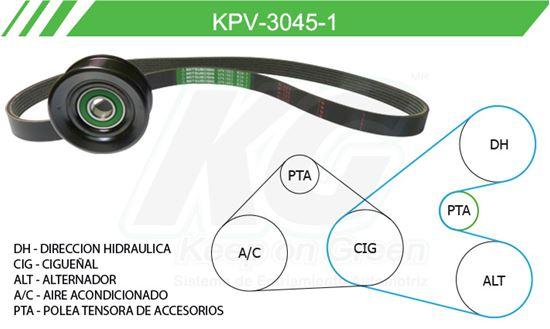 Imagen de Kit de Accesorios con Banda Poly-V KPV-3045-1