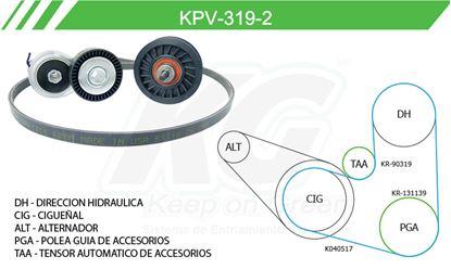 Imagen de Kit de Accesorios con Banda Poly-V KPV-319-2