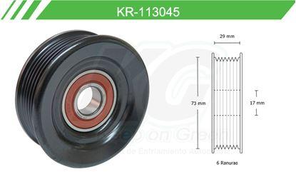 Imagen de Poleas de Accesorios y Distribución KR-113045