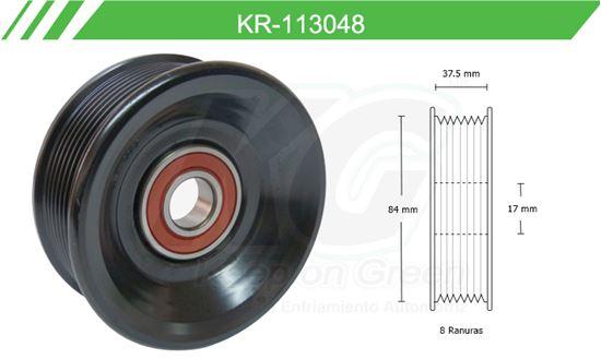 Imagen de Poleas de Accesorios y Distribución KR-113048