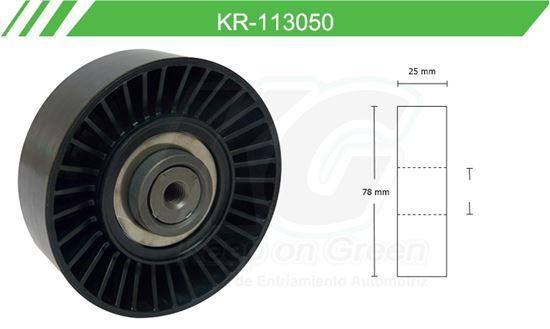 Imagen de Poleas de Accesorios y Distribución KR-113050