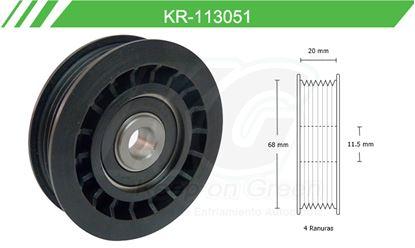 Imagen de Poleas de Accesorios y Distribución KR-113051
