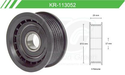 Imagen de Poleas de Accesorios y Distribución KR-113052