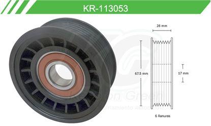Imagen de Poleas de Accesorios y Distribución KR-113053