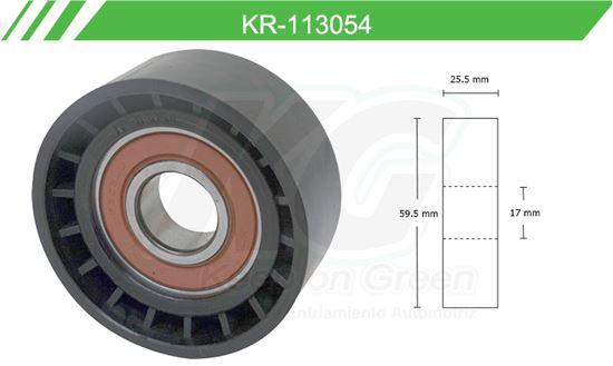 Imagen de Poleas de Accesorios y Distribución KR-113054