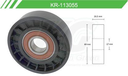 Imagen de Poleas de Accesorios y Distribución KR-113055