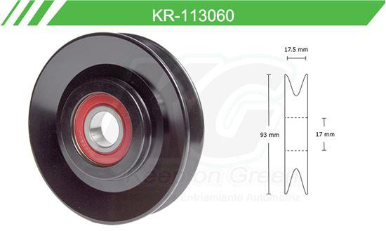 Imagen de Poleas de Accesorios y Distribución KR-113060