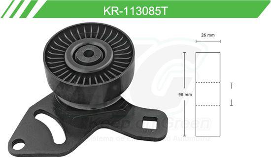 Imagen de Poleas de Accesorios y Distribución KR-113085T