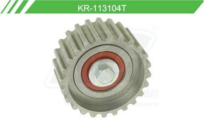 Imagen de Poleas de Accesorios y Distribución KR-113104T