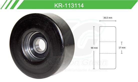 Imagen de Poleas de Accesorios y Distribución KR-113114