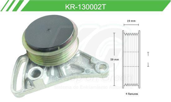 Imagen de Poleas de Accesorios y Distribución KR-130002T