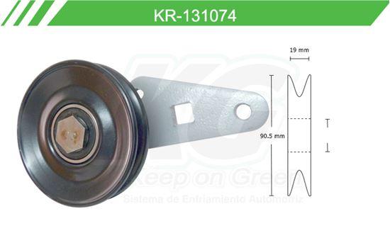 Imagen de Poleas de Accesorios y Distribución KR-131074