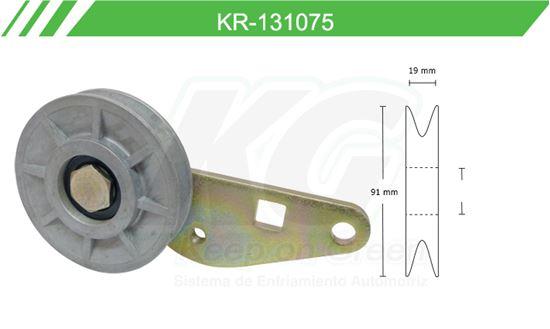 Imagen de Poleas de Accesorios y Distribución KR-131075