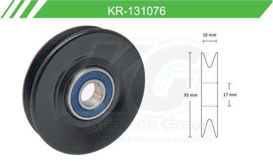 Imagen de Poleas de Accesorios y Distribución KR-131076