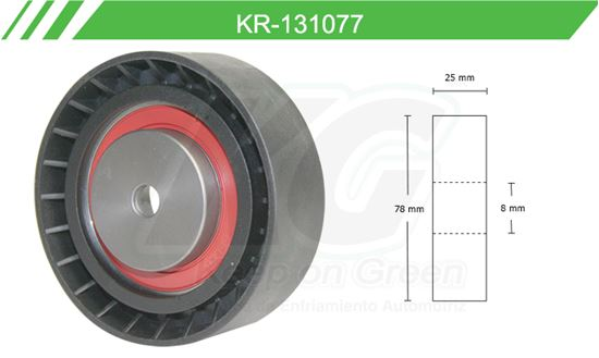 Imagen de Poleas de Accesorios y Distribución KR-131077