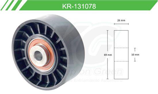 Imagen de Poleas de Accesorios y Distribución KR-131078