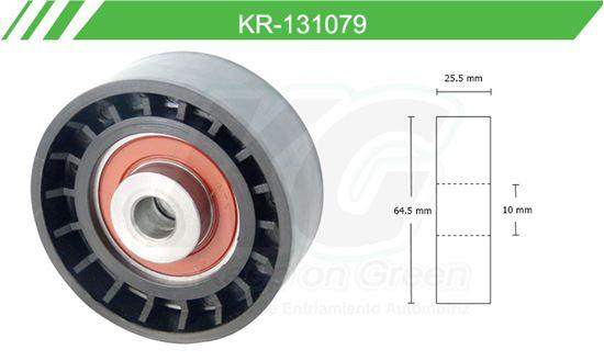 Imagen de Poleas de Accesorios y Distribución KR-131079