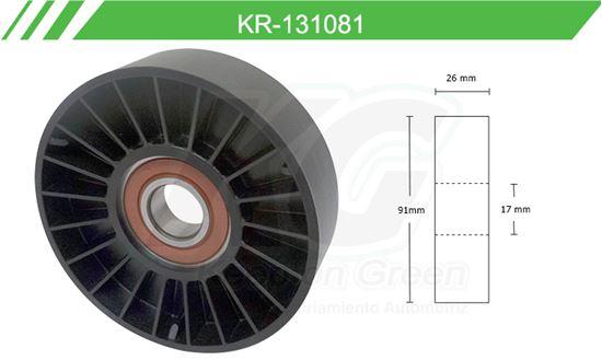 Imagen de Poleas de Accesorios y Distribución KR-131081