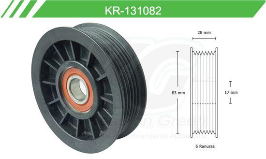 Imagen de Poleas de Accesorios y Distribución KR-131082