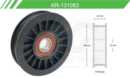 Imagen de Poleas de Accesorios y Distribución KR-131083