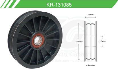 Imagen de Poleas de Accesorios y Distribución KR-131085