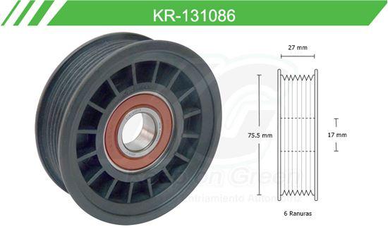 Imagen de Poleas de Accesorios y Distribución KR-131086