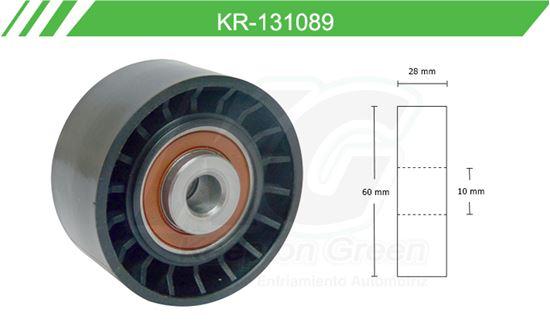 Imagen de Poleas de Accesorios y Distribución KR-131089