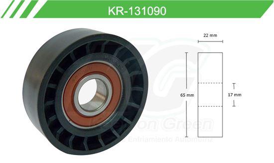 Imagen de Poleas de Accesorios y Distribución KR-131090