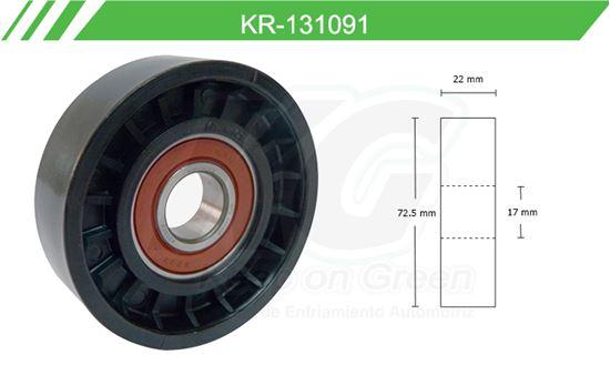 Imagen de Poleas de Accesorios y Distribución KR-131091
