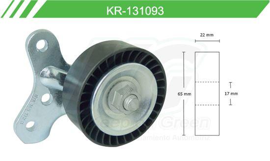 Imagen de Poleas de Accesorios y Distribución KR-131093