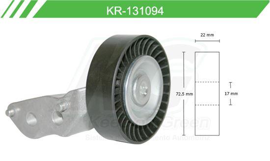 Imagen de Poleas de Accesorios y Distribución KR-131094