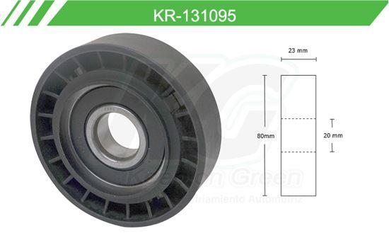 Imagen de Poleas de Accesorios y Distribución KR-131095