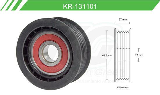 Imagen de Poleas de Accesorios y Distribución KR-131101