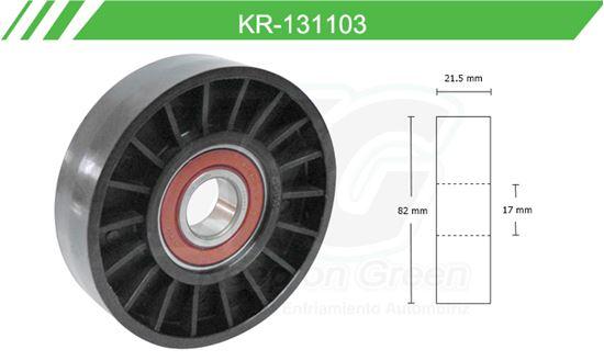 Imagen de Poleas de Accesorios y Distribución KR-131103