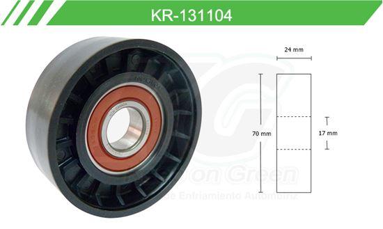 Imagen de Poleas de Accesorios y Distribución KR-131104