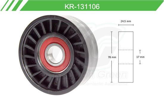 Imagen de Poleas de Accesorios y Distribución KR-131106
