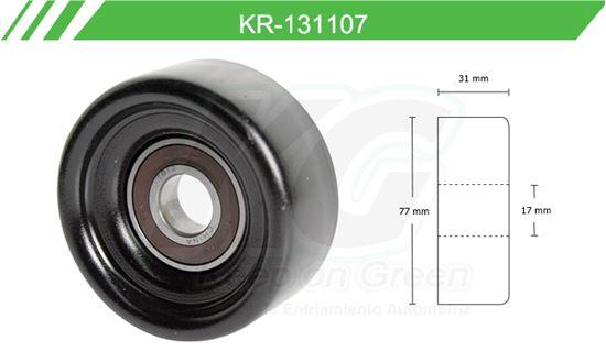 Imagen de Poleas de Accesorios y Distribución KR-131107