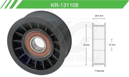 Imagen de Poleas de Accesorios y Distribución KR-131108