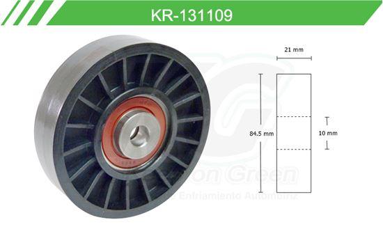 Imagen de Poleas de Accesorios y Distribución KR-131109